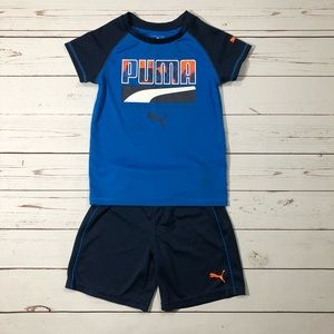 Puma T- Shirt & Shorts Set